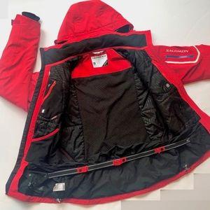Salomon ClimaPro Storm 20k Ski Coat sz Small